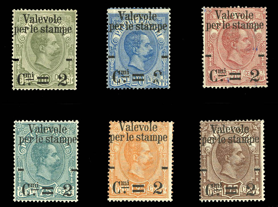 Stamps from Italy